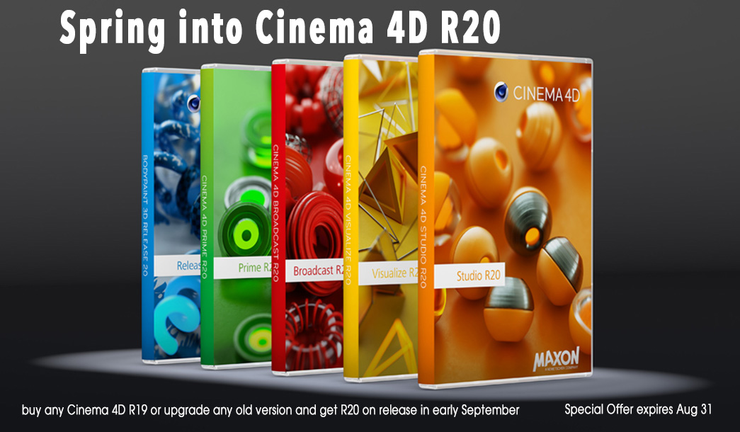 Cinema4D - Sidegrade and Crossgrade from LITE
